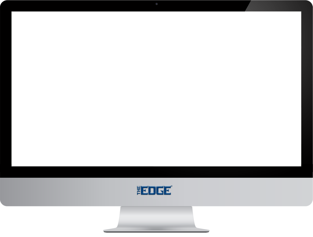 The edge software for. Computer clip art computer screen