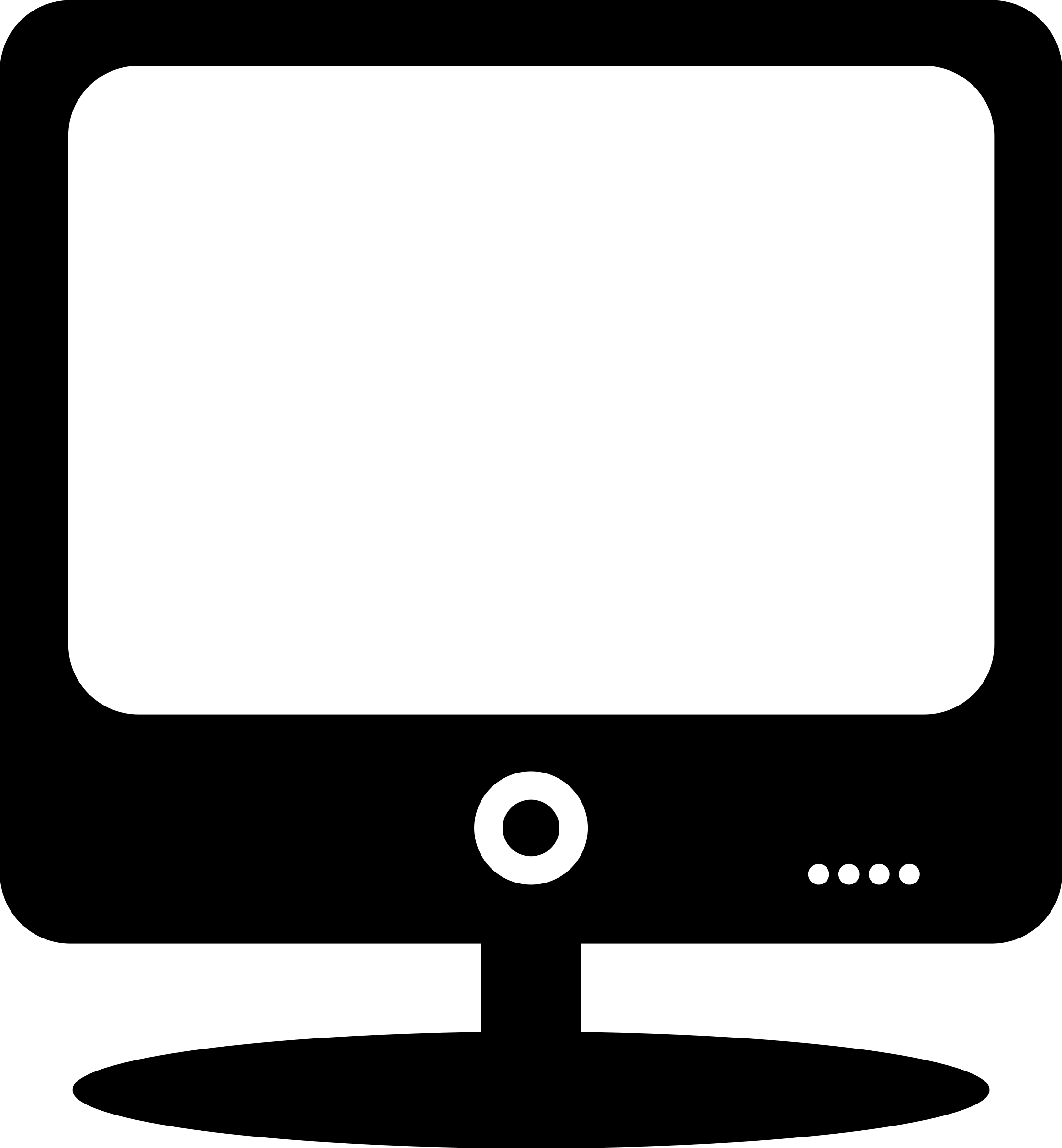 Computer clipart computer screen. Free picture of a