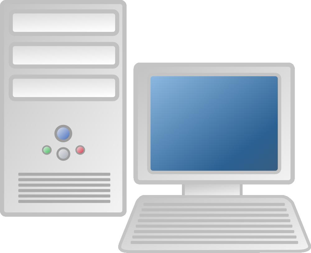 Computer clipart computer workstation. Onlinelabels clip art details