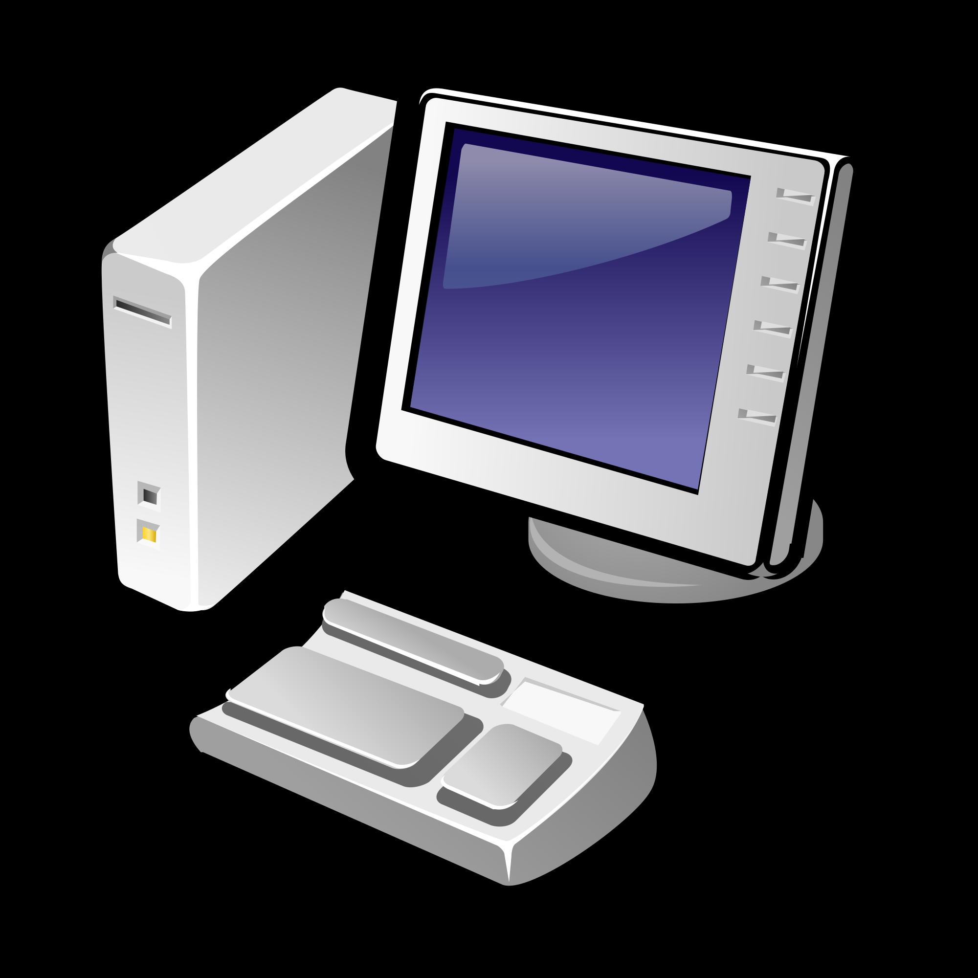 File gorilla thinclient svg. Computer clip art computer terminal