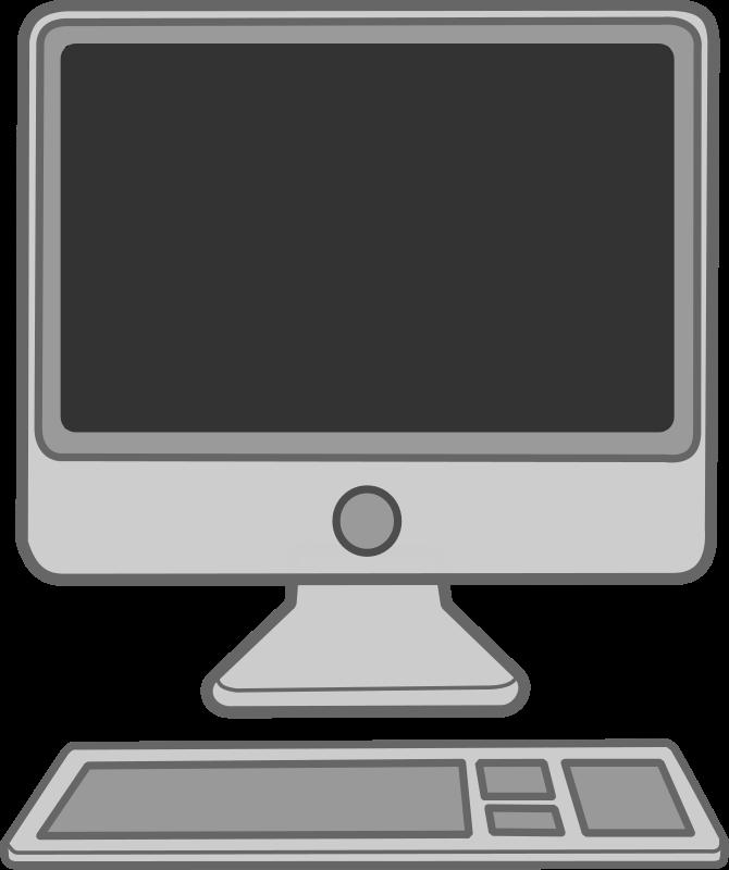 Computer clip art computer terminal. Apple valuable ideas coloring