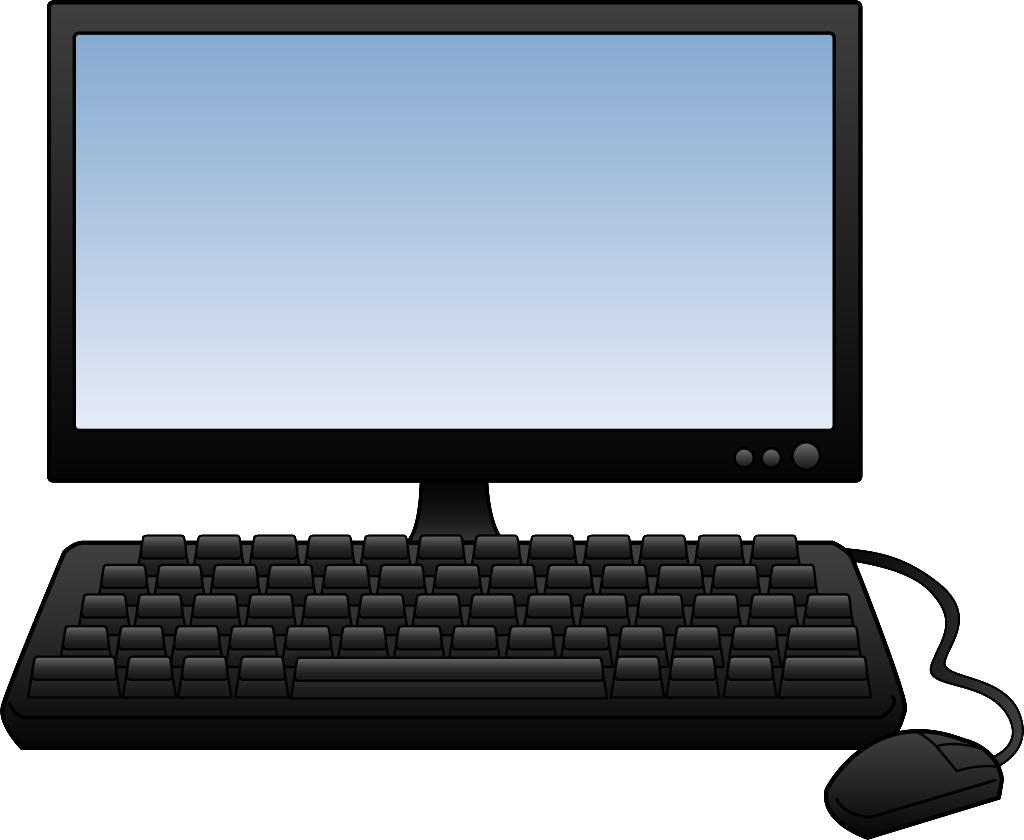 Computer clip art computer terminal. Clipart ideal vistalist co