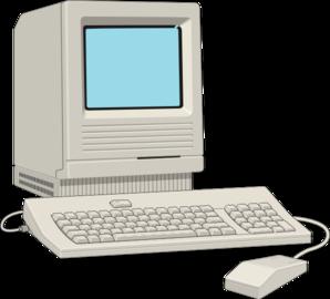 Computer clip art computer terminal. Antique at clker com