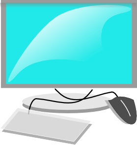 computer clip art computer terminal