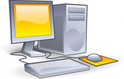 Free station cliparts download. Computer clip art computer workstation