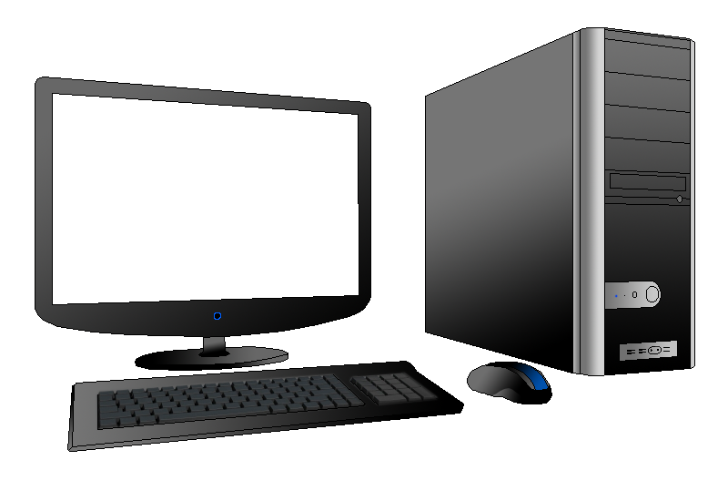 Desktop download cliparts . Computer clip art computer workstation