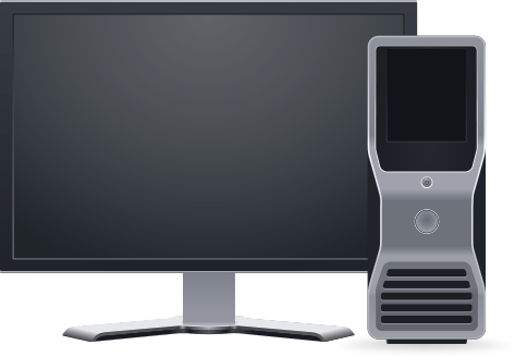Computer clip art computer workstation. Free cliparts download