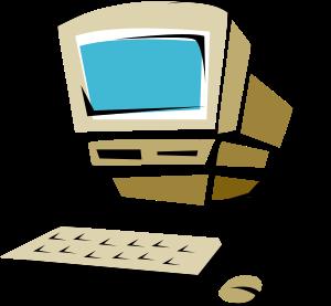Computer clip art minimalist. Free clipart panda images