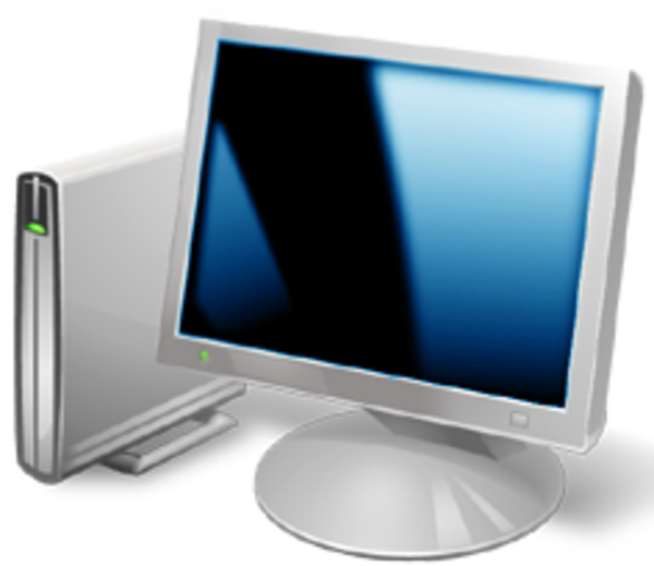 Computer clip art minimalist. Free images at clker