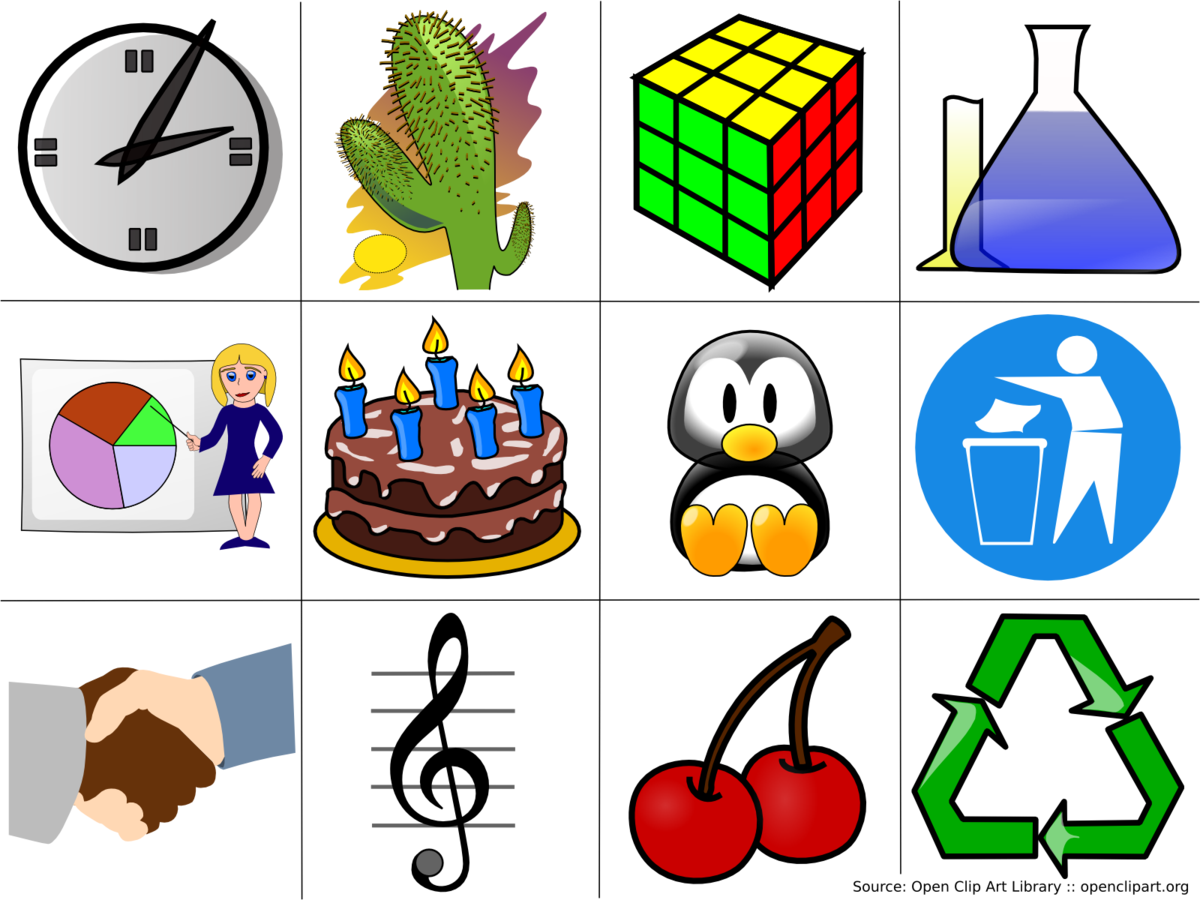 Clip art wikipedia . Organized clipart standard work