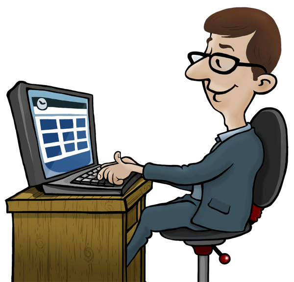 Free employee monitoring software. Computer clip art office computer