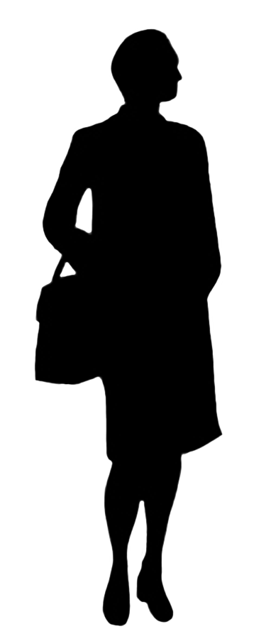 Silhouettes of people clipart. Computer clip art silhouette