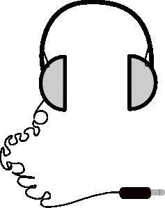 Computer clip art simple. Headphones at clker com