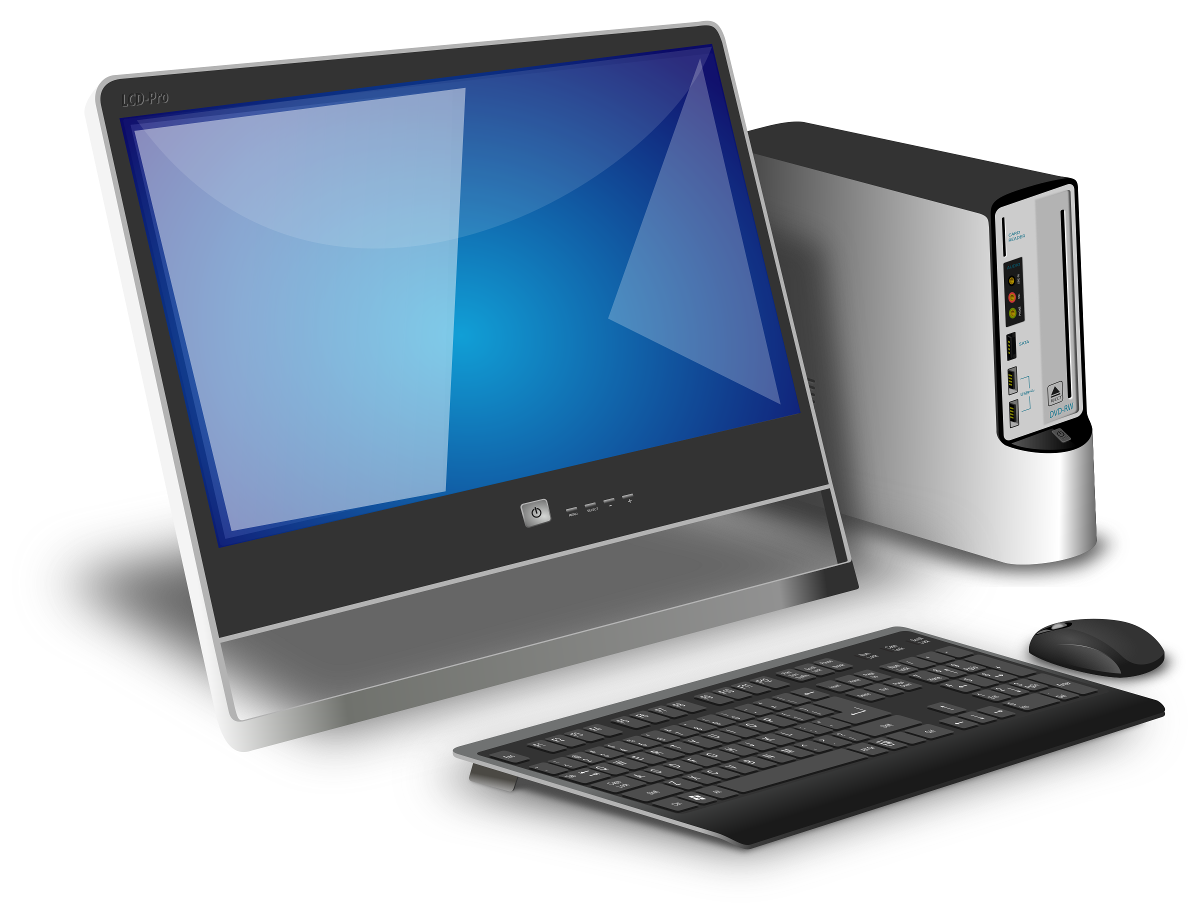 Desktop pc high quality. Computer images png