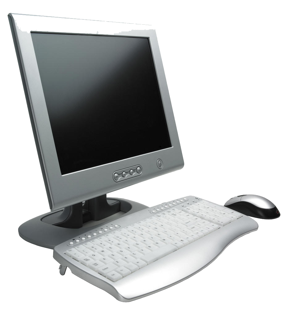 Desktop pc high quality. Computer clip art transparent background