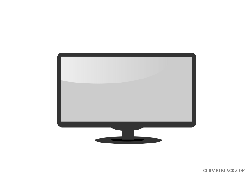 Page of clipartblack com. Computer clipart black and white