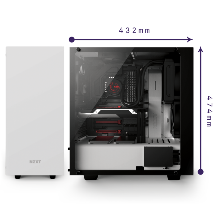 S elite mid tower. Computer clipart casing