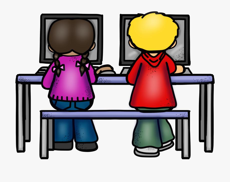 Computer clipart computer lab. Png images clip art