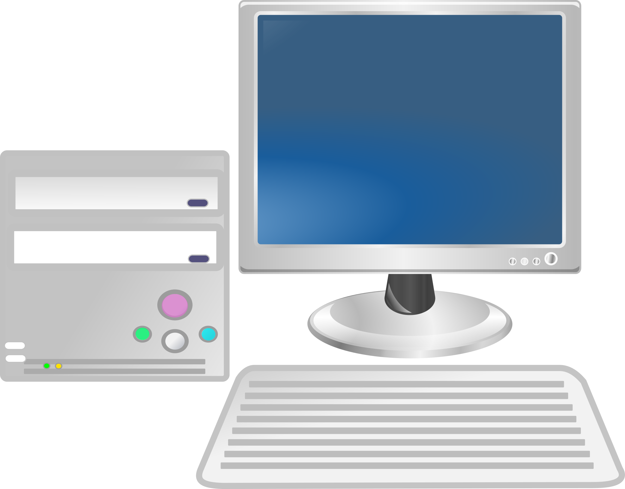 Computer clipart computer workstation. Icons png free and