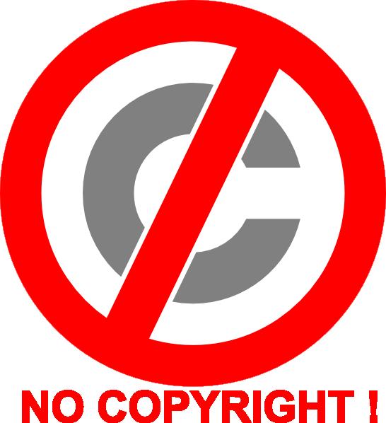 No icon clip art. Computer clipart copyright