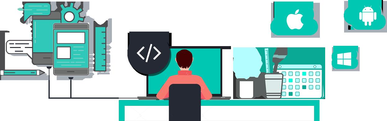Computers clipart developer. Hire mobile app developers