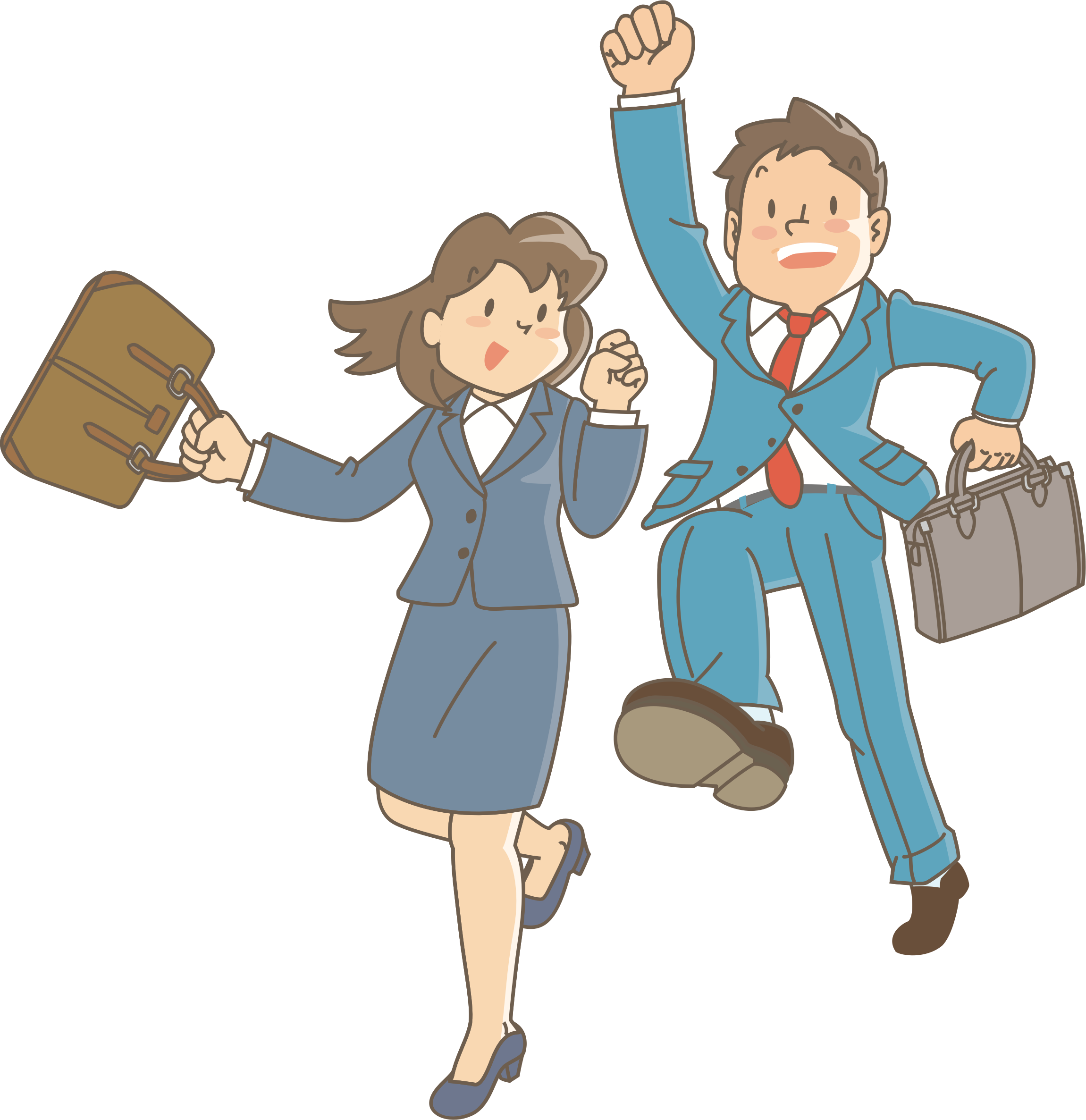 Employee clipart work clipart. Excited employees icons png