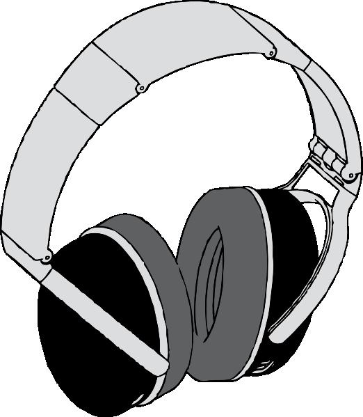 Headphones clip art at. Ears clipart animated