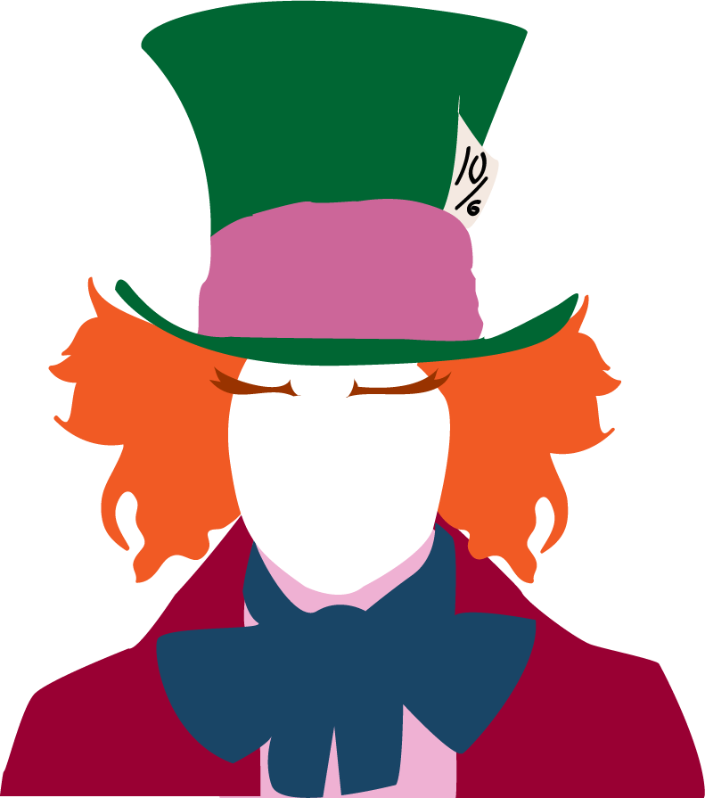 Hatter by hachiwara on. Mad clipart customer