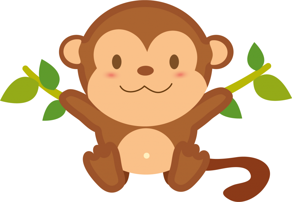 monkey clipart chimpanzee