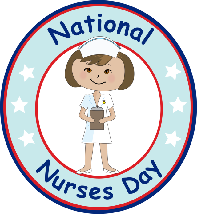 National nurses day . Nursing clipart nurse patient