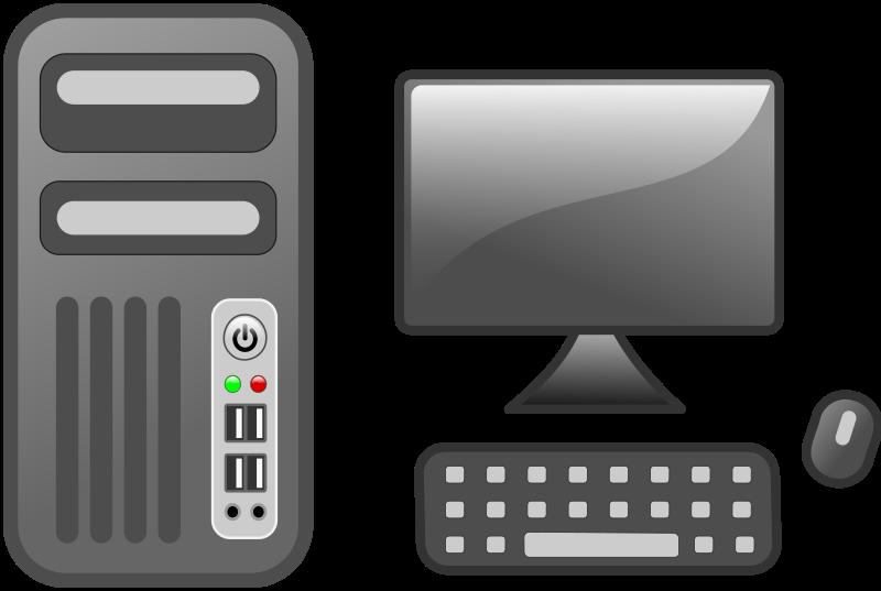 Computer clipart pdf. Workstation medium image png