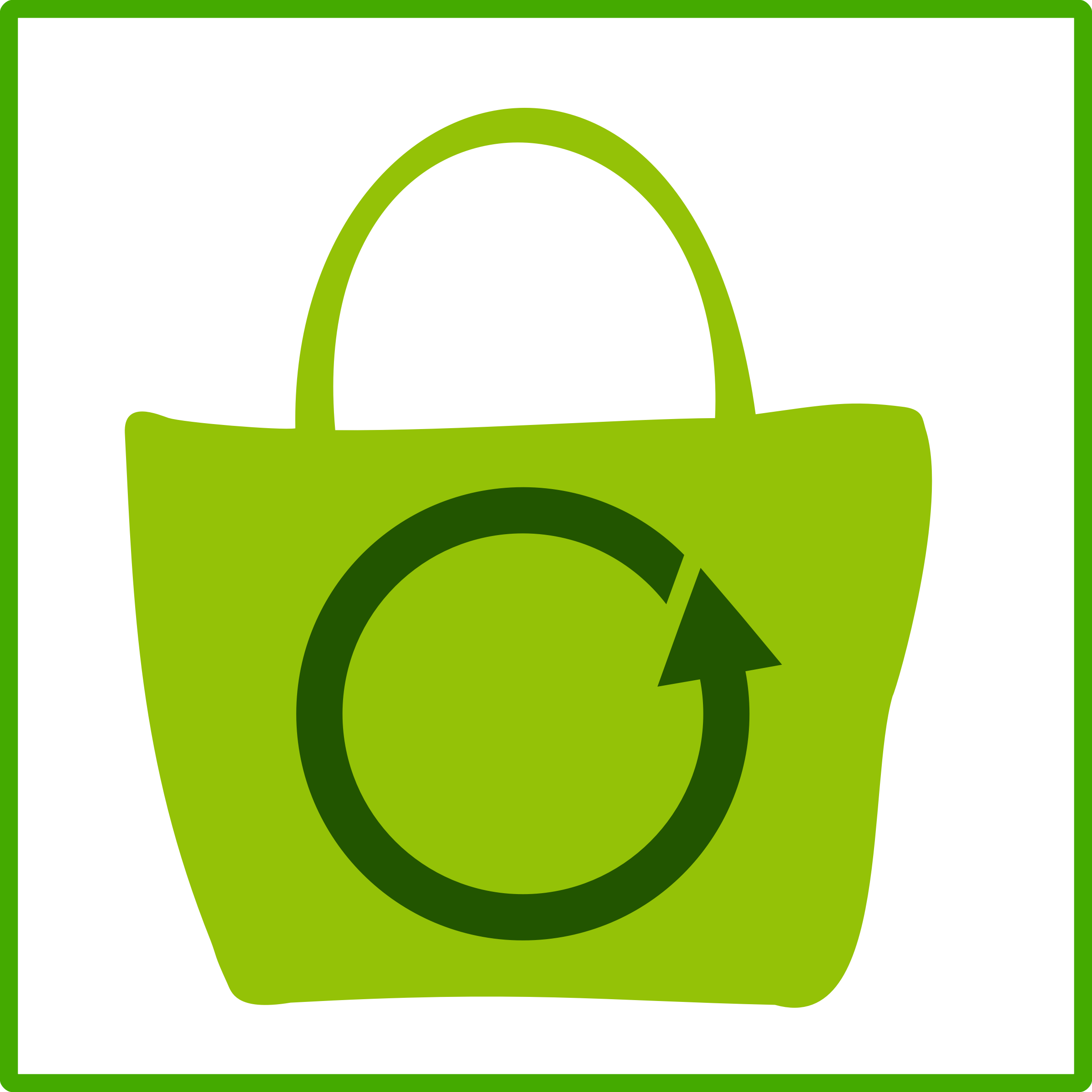 Eco green icon icons. Computer clipart shopping