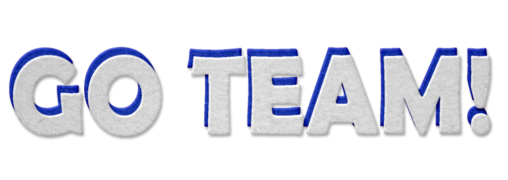 Team clip art free. Words clipart swimming