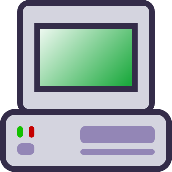 Electronics clipart clip art. Computer icon at clker