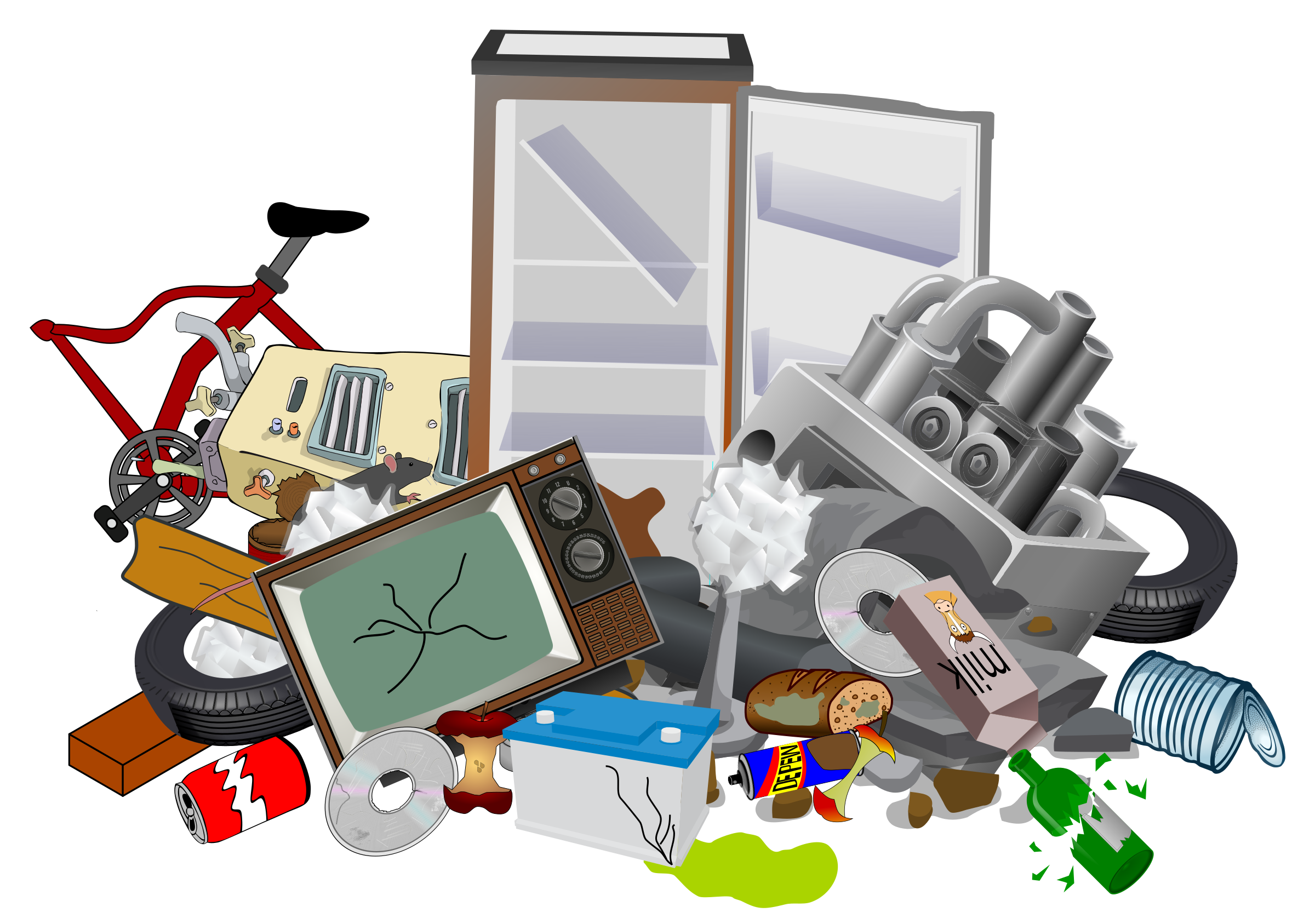 Dump site icons png. Garbage clipart scrap