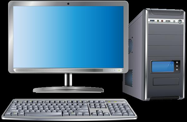 Computer images png. Set transparent clip art