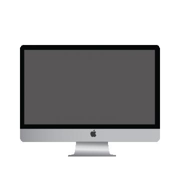 Apple mac vectors psd. Computer vector png
