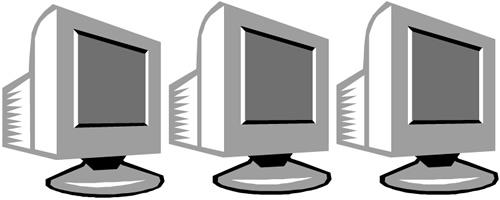 Computers clipart. Clip art panda free