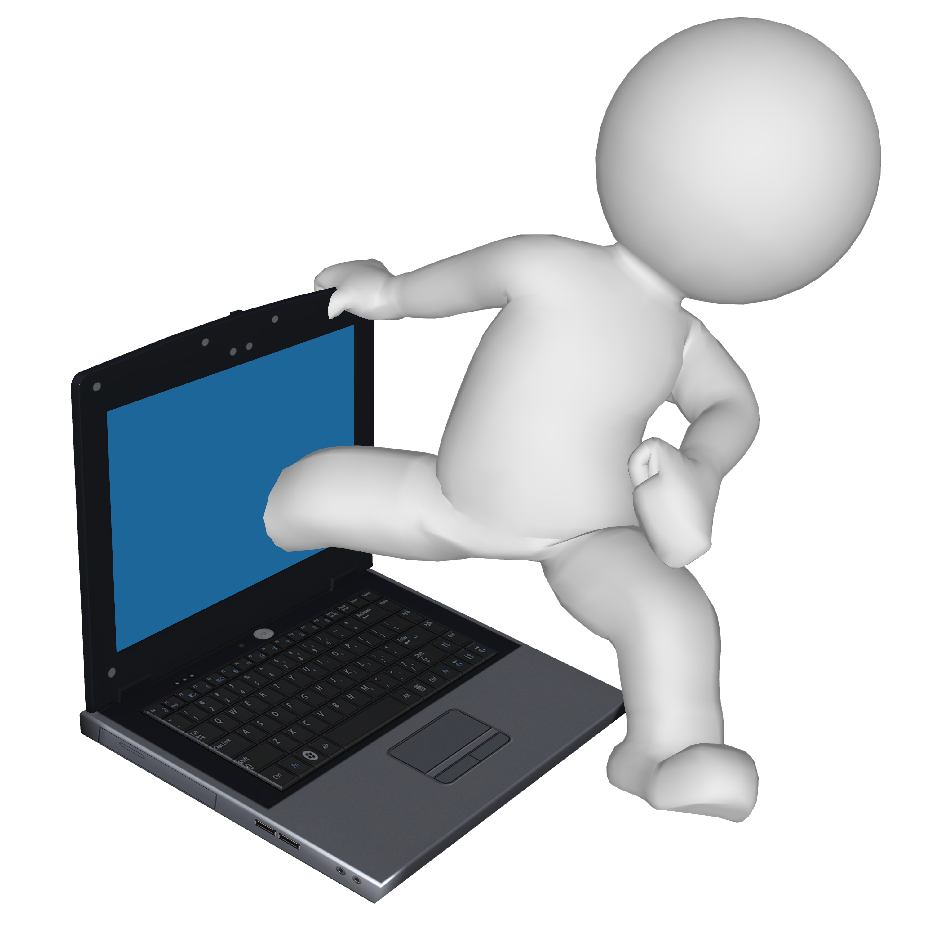 Computer images panda free. Computers clipart animated