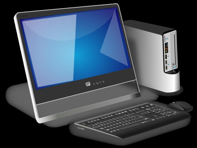 Generic office desktop Clipart | Clip art Free Bulletin Boards Doors ...