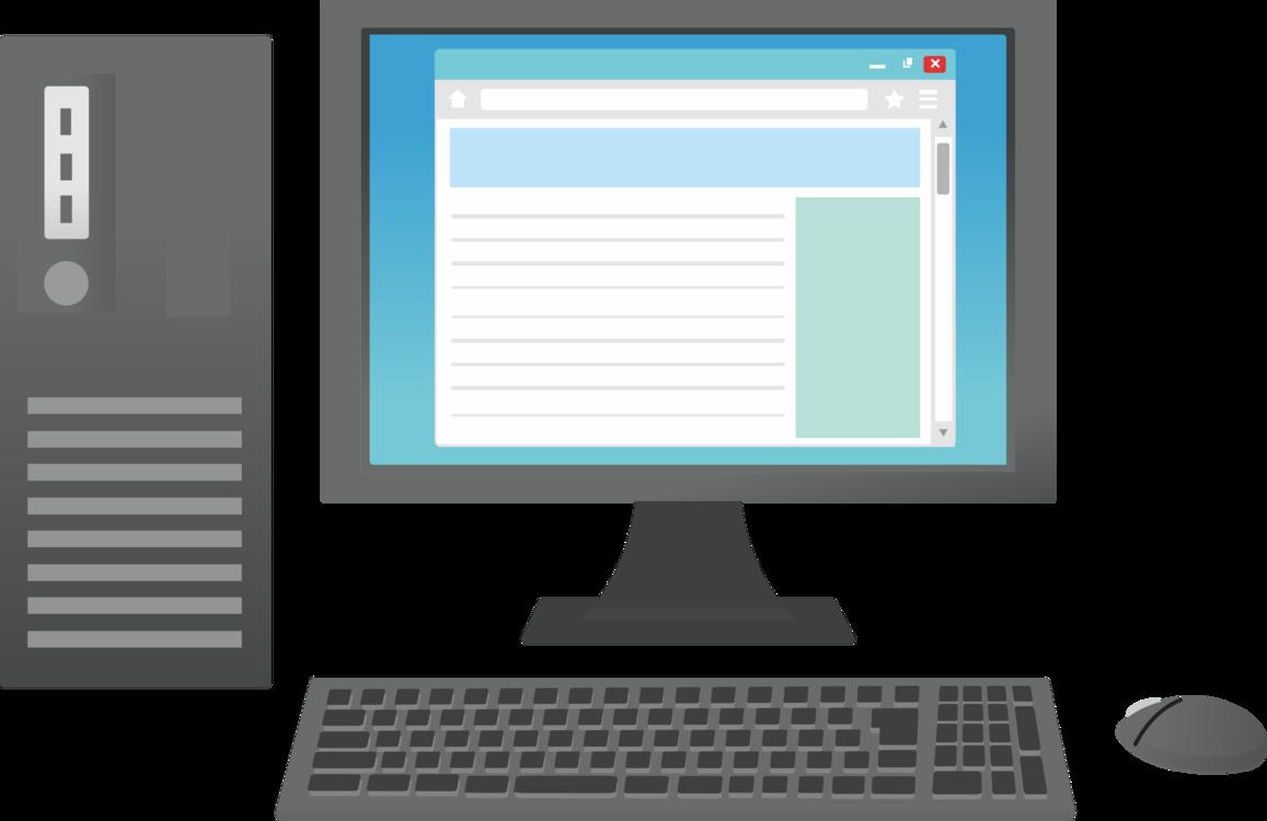 Computers clipart desktop computer. Monitor png