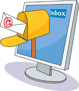 Free computer e mail. Email clipart sent