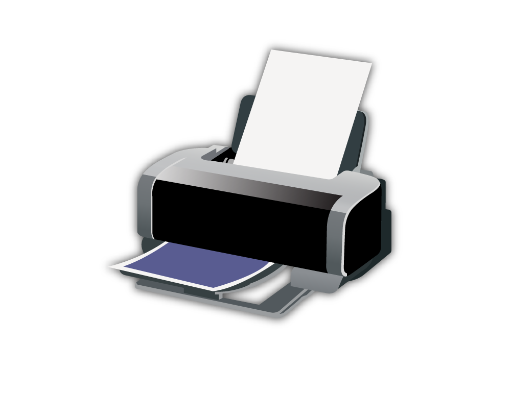 Printer png images free. Computers clipart plotter