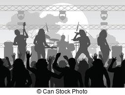 Concert clipart. Free panda images concertclipart