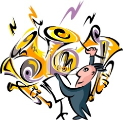 Free. Concert clipart