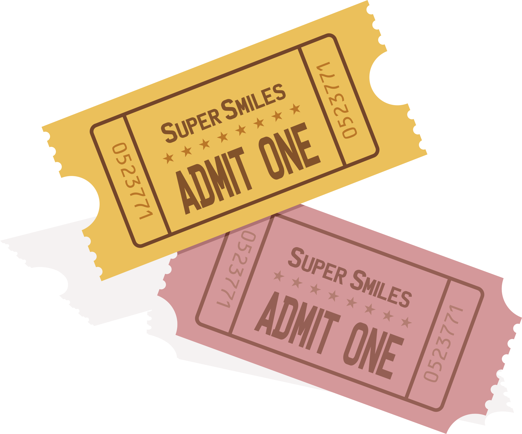 Concert templatepng . Ticket clipart single