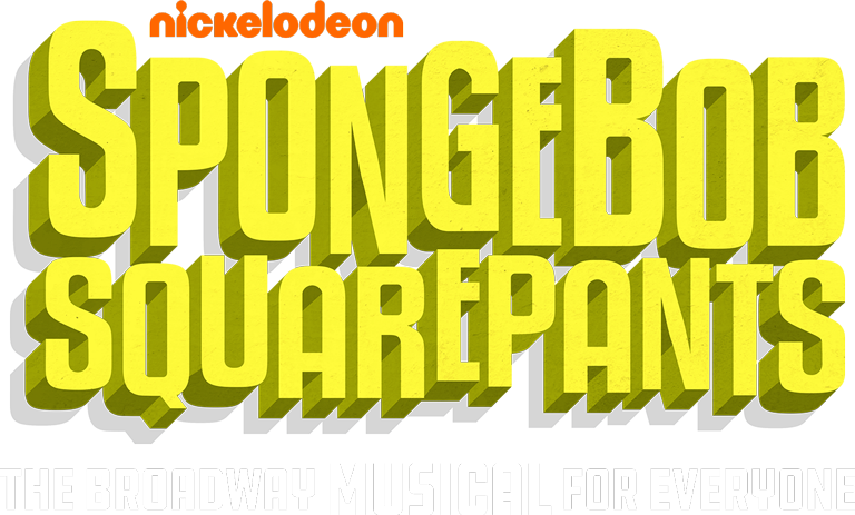 Spongebob squarepants official broadway. Raffle clipart theatre ticket