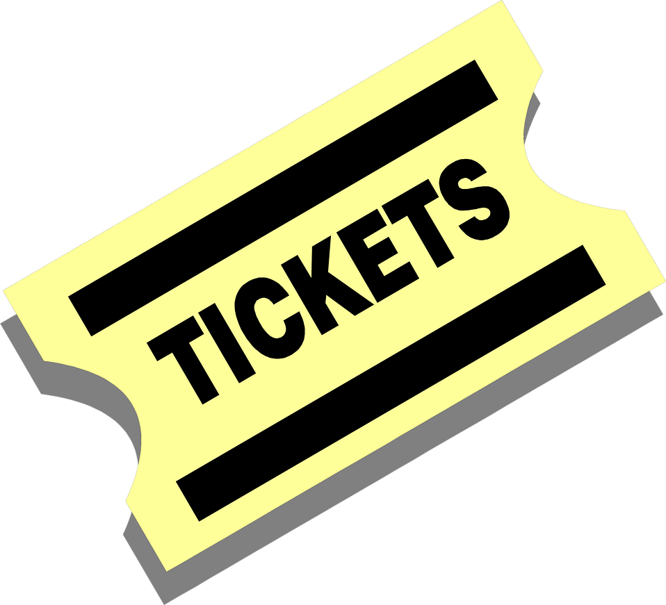 collection of tickets. Raffle clipart sport ticket