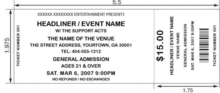 Blank clip art google. Ticket clipart event ticket