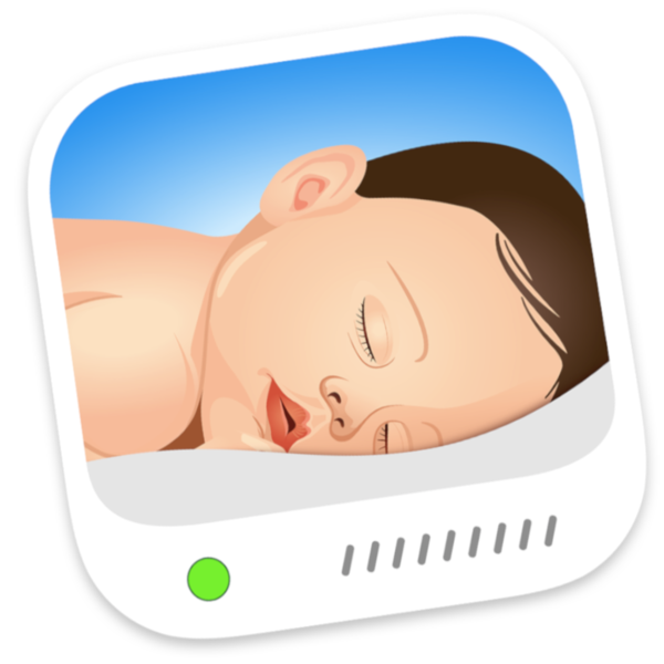 Cloud baby monitor on. Wednesday clipart proud child